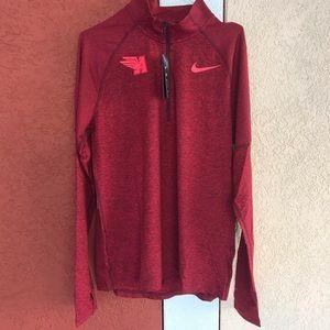 Nike Running Arcadia Invite Long Sleeves Shirt L